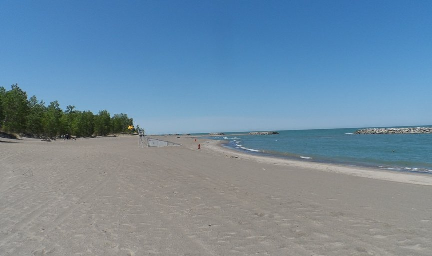 Beaches Open For Swimming At Presque Isle State Park