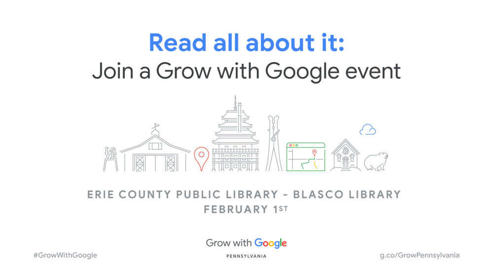 Grow With Google Event February 1st