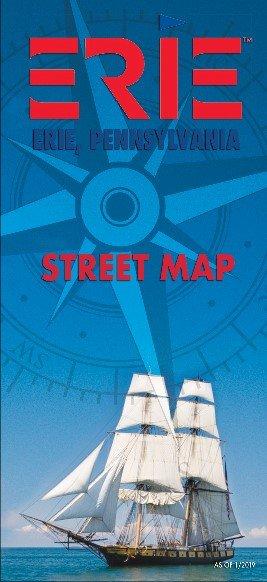 Erie Area Street Map