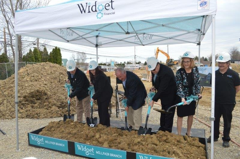 Widget Financial Breaks Ground
