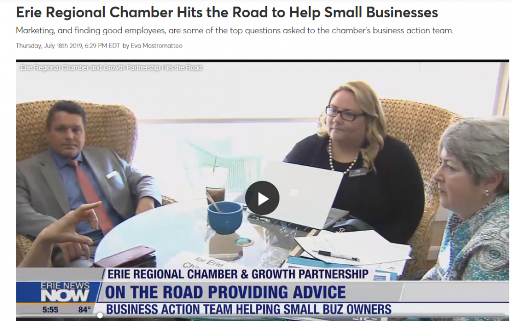 What is the Business Action Team Road Show?