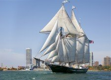Tall Ship Denis Sullivan is announced as first Tall Ship, bringing its captain, Tiffany Krihwan, back home to Erie