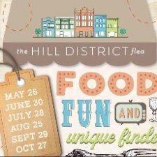 The Hill District Ribbon Knotting Ceremony & June 30th Flea Line Up