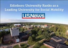 Edinboro University Ranks as a Leading University for Social Mobility